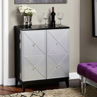 Simple Living Lexington Wine Cabinet - N/A