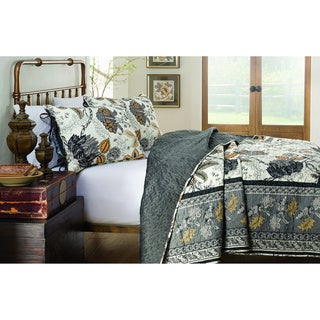 214 West Velvet Kera 3-piece Quilt Set