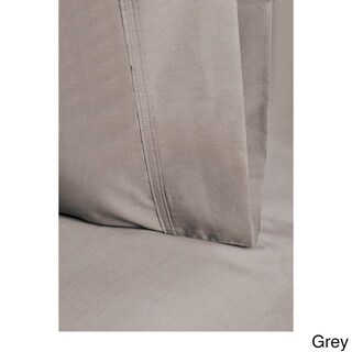 Superior 300 Thread Count Percale Cotton Solid Sheet Set