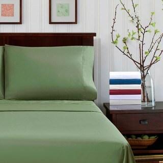 Superior 300 Thread Count Percale Cotton Deep Pocket Sheet Set