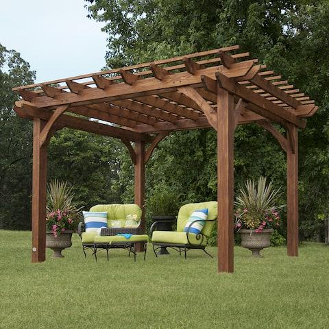 Backyard Discovery 10' x 12' Cedar Pergola