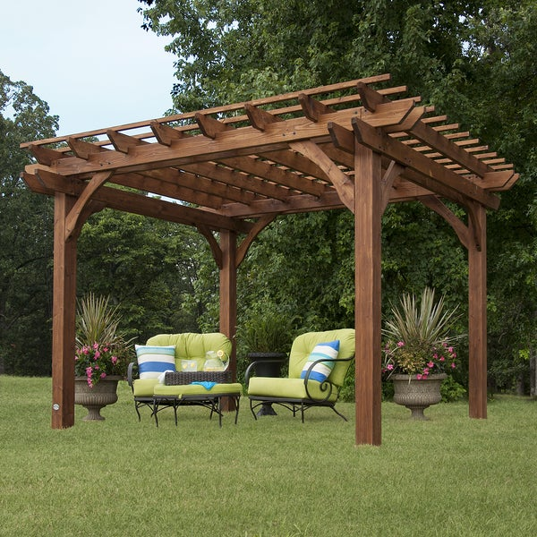 Backyard Discovery Cedar Pergola