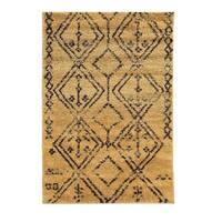 Linon Moroccan Fes Camel/Brown Rug (3' x 5') - 3' x 5'