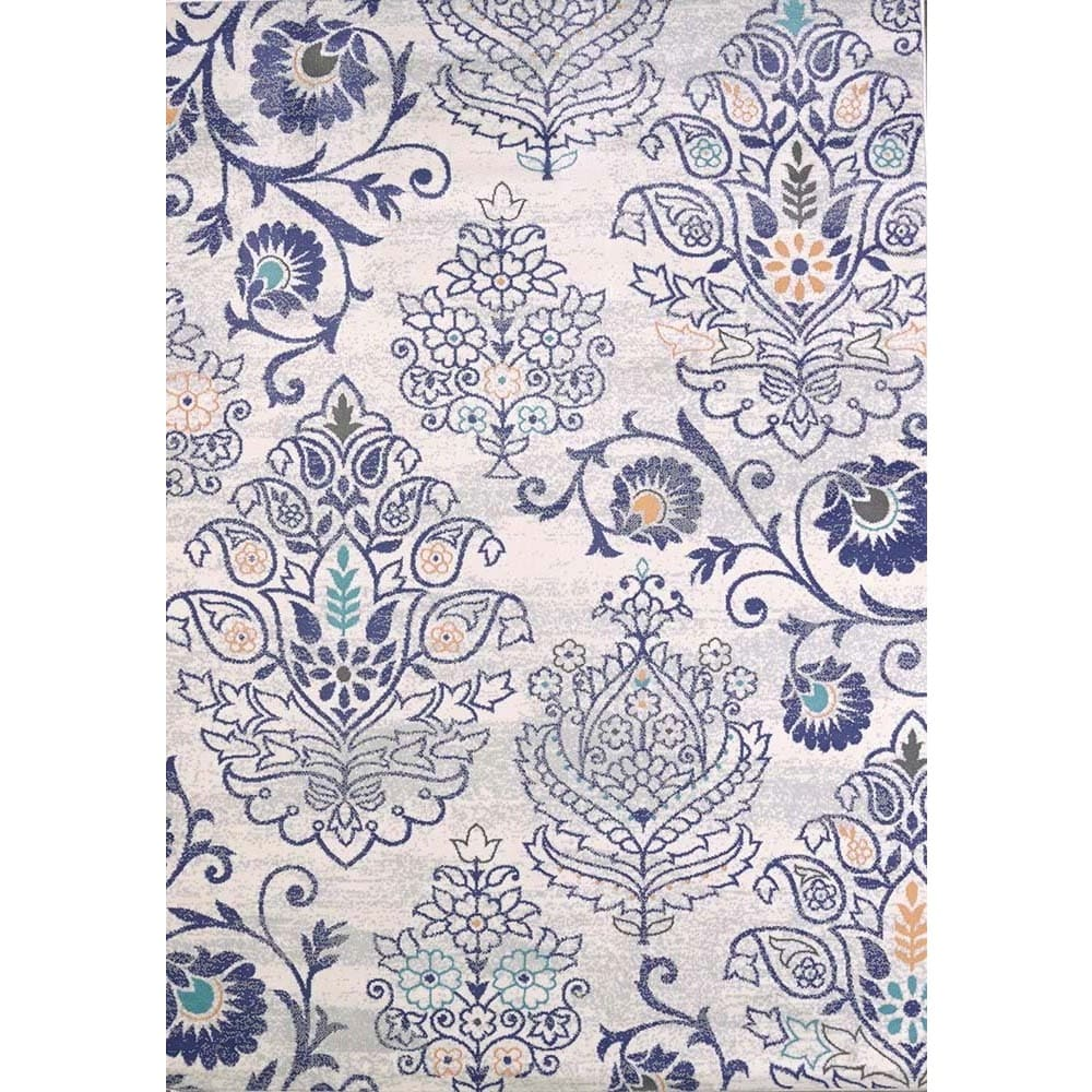 Westfield Home Tranquility Sea Scrolls Area Rug (5'3 x 7'...