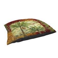 Palms Pattern V Indoor/ Outdoor Pet Bed