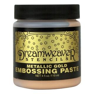Dreamweaver Embossing Paste 4ozGold