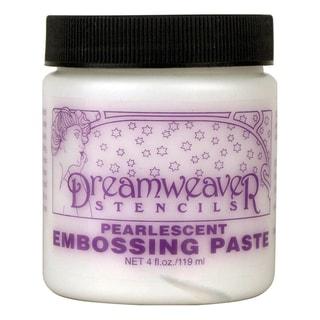 Dreamweaver Embossing Paste 4ozPearlescent
