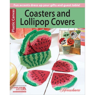 Leisure ArtsCoasters And Lollipop Covers