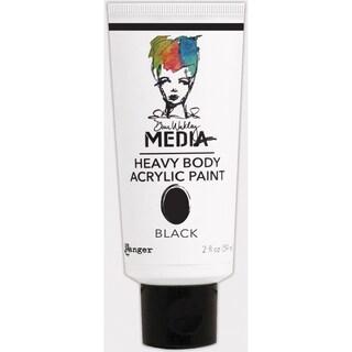 Dina Wakley Media Heavy Body 2oz Acrylic PaintsBlack