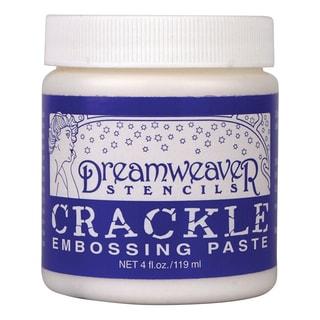 Dreamweaver Embossing Paste 4ozCrackle