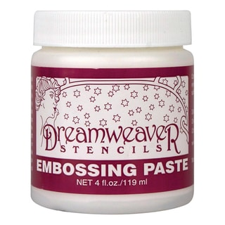 Dreamweaver Embossing Paste 4ozRegular