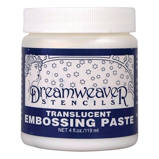 Dreamweaver Embossing Paste 4ozTransluscent