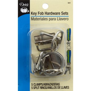 Key Fob Hardware Sets Bonus PackSilver