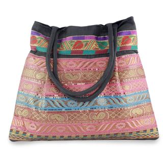Embroidered 'Gujarat Dreams' Shoulder Bag (India)