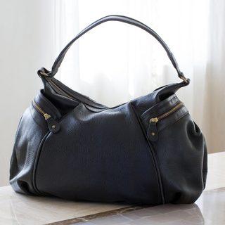 Handmade Leather 'Guanajuato' Baguette Handbag (Mexico)