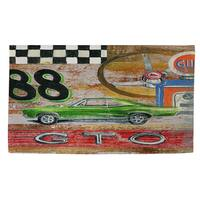 Muscle Cars III - Rug (4'x 6') - multi