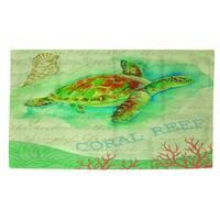 Salty Air Sea Turtle - Rug (4'x 6')
