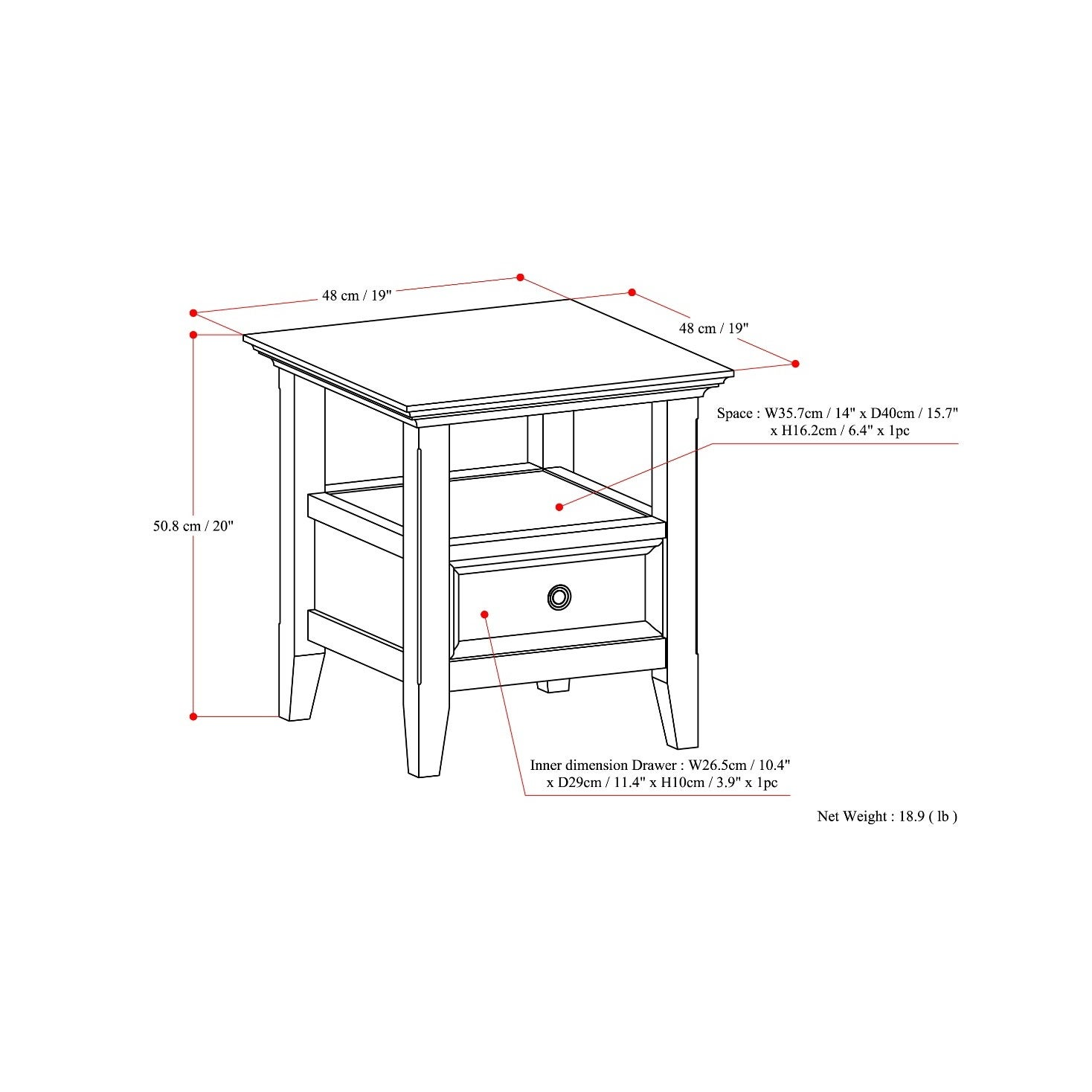 Surprising Details About Wyndenhall Halifax End Side Table Camellatalisay Diy Chair Ideas Camellatalisaycom
