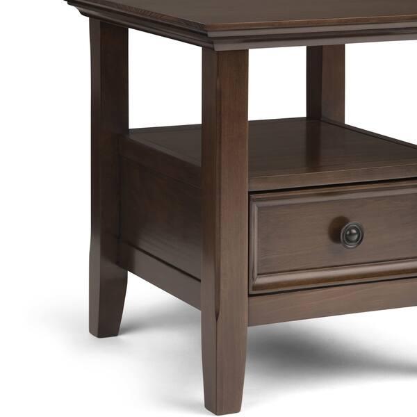 Pleasant Shop Wyndenhall Halifax Solid Wood 19 In Wide Square Camellatalisay Diy Chair Ideas Camellatalisaycom