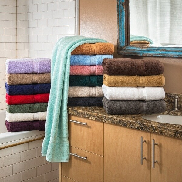 900 GSM Egyptian Cotton 6-piece Towel Set