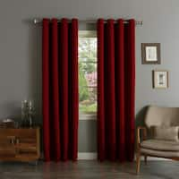 """Aurora Home Thermal Insulated Blackout 90 Inch Curtain Panel Pair - 52""""w x 90""""l"""