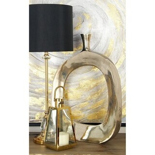 Distinctively Artistic Aluminum Vase