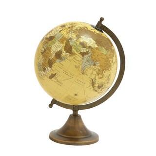 Copper Grove Lupinus Metal Pvc Globe