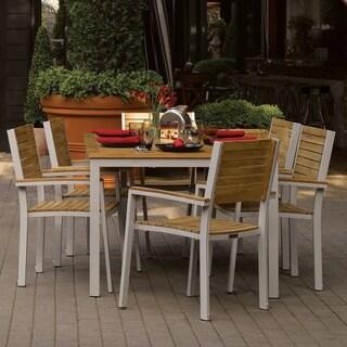 Oxford Garden Travira 7-piece 63 inch Table Set