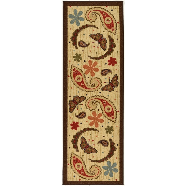 Ottomanson Sara S Kitchen Paisley Rug 20 Quot X 59 Quot Free