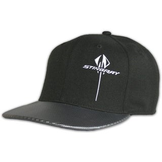 Chevy Corvette Stingray Vertical Snapback Hat