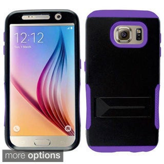 Insten TPU Rubber Candy Skin Phone Case Cover with Screen Protector For Samsung Galaxy S6