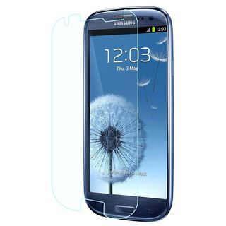 Insten Clear Tempered Glass LCD Screen Protector Film Cover For Samsung Galaxy S3