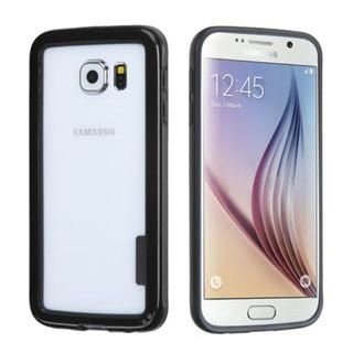 Insten TPU Rubber Candy Skin Phone Bumper Frame For Samsung Galaxy S6