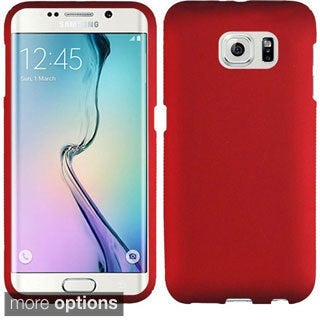 Insten Hard Snap-on Rubberized Matte Phone Case Cover For Samsung Galaxy S6 Edge