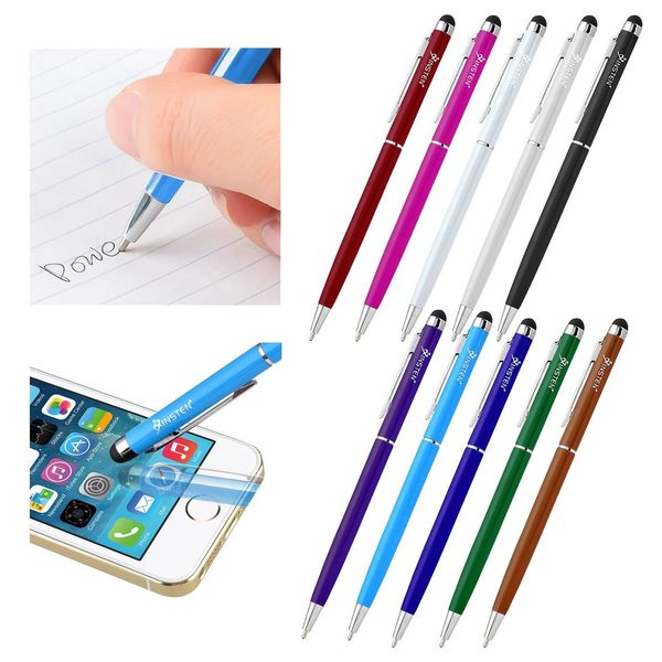 Insten 2-in-1 Capacitive Touch Screen Stylus Ball Pen for Apple iPhone XS Max/ XS/ XR/ Samsung Glaxy Note 9/ Note 8 (Pack of 10)