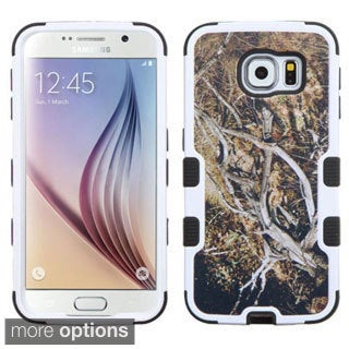 Insten Design Pattern Tuff Hard PC/ Silicone Dual Layer Hybrid Rubberized Matte Phone Case Cover For Samsung Galaxy S6