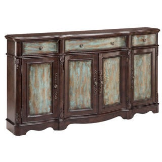 Laurie Distressed Veneer Sideboard Cabinet