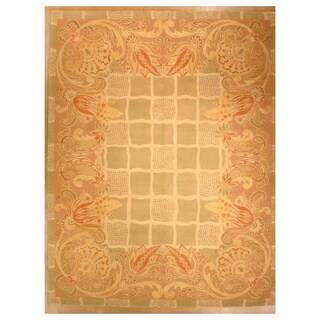 Hand-Knotted Orleans Rug (7' x 10')