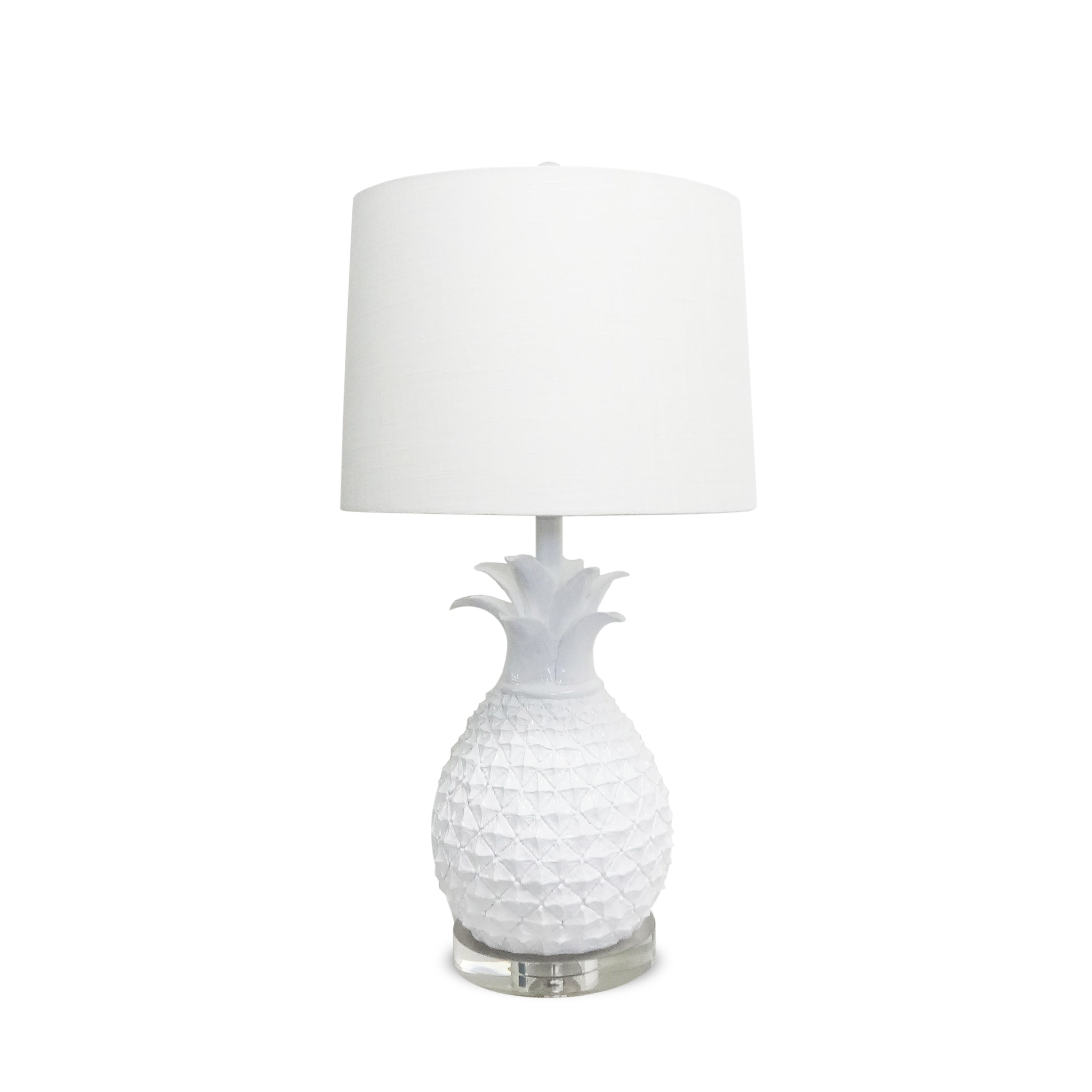 Unbranded White Pineapple Lamp (Crystal)