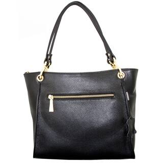 Leatherbay Rimini Small Tote Bag|https://ak1.ostkcdn.com/images/products/10138943/P17276088.jpg?impolicy=medium