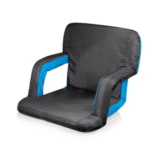 Picnic Time Ventura Portable Recliner Chair - Waves Collection
