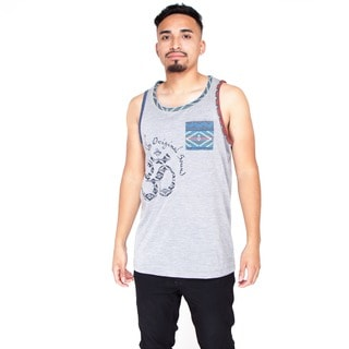 Handmade Men's Grey Muscle Tank Top (India)