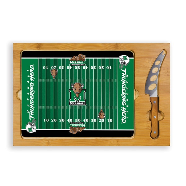 Football (Marshall University Thundering Herd) Icon Cheese Tray