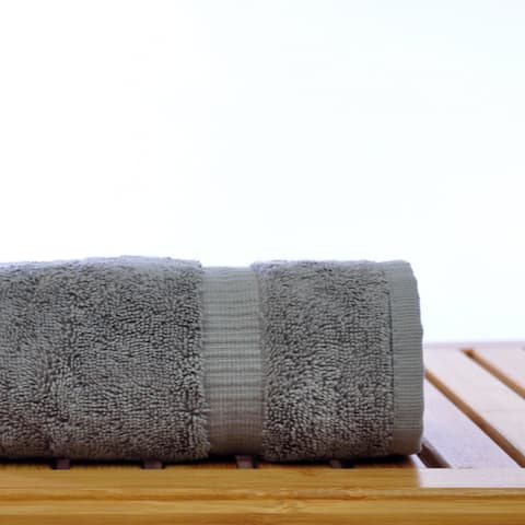 Luxury Hotel & Spa Turkish Cotton Dobby Hand Towels (Set of 6)
