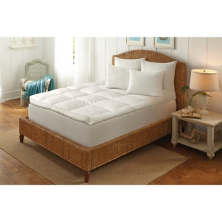 5-inch Ultimate Comfort Featherbed - White
