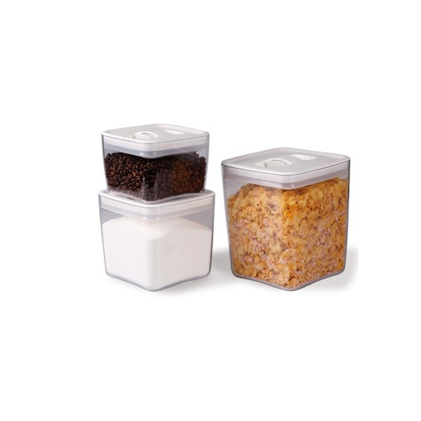 64dfeef5cf96 Shop Click Clack Cube Storage Container (3-pack) - Free Shipping On ...