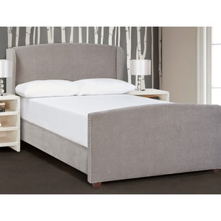 Jennifer Taylor Lea Wingback Upholstered Bed