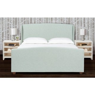 Jennifer Taylor Lea Wingback Upholstered Bed