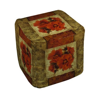 Thumbprintz Spice Flower II Pouf