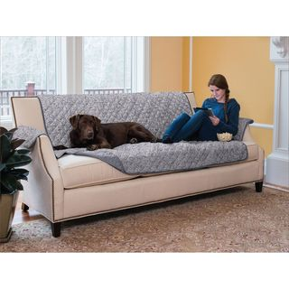 home fashion designs luxe collection printed reversible sofa protector